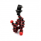 SMJ Universal Stand Holder Mini Octopus TrIPOD for GoPro - Red