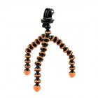 SMJ Universal Stand Holder Mini Octopus TrIPOD for GoPro - Orange