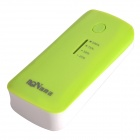 Richino RD-158  Rechargeable 4400mAh Emergency Mobile Power Charger - White + Green