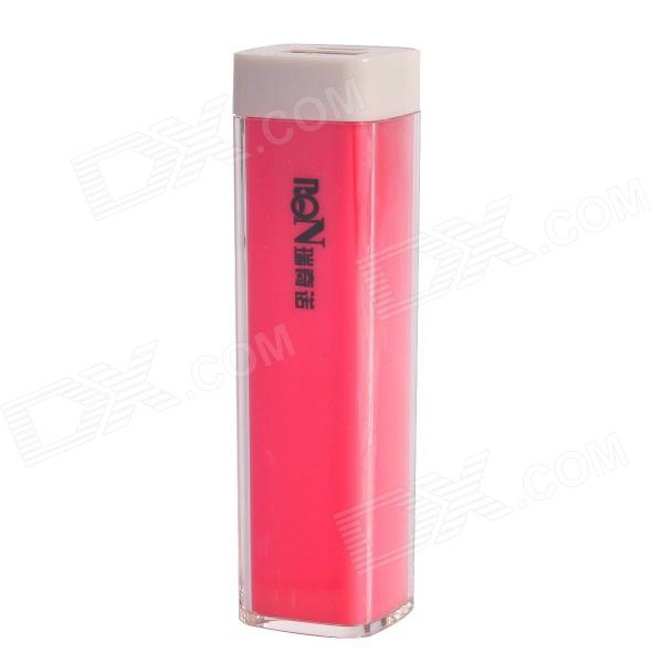 Richino RD-128  Rechargeable 2200mAh Emergency Mobile Power Charger - Pink