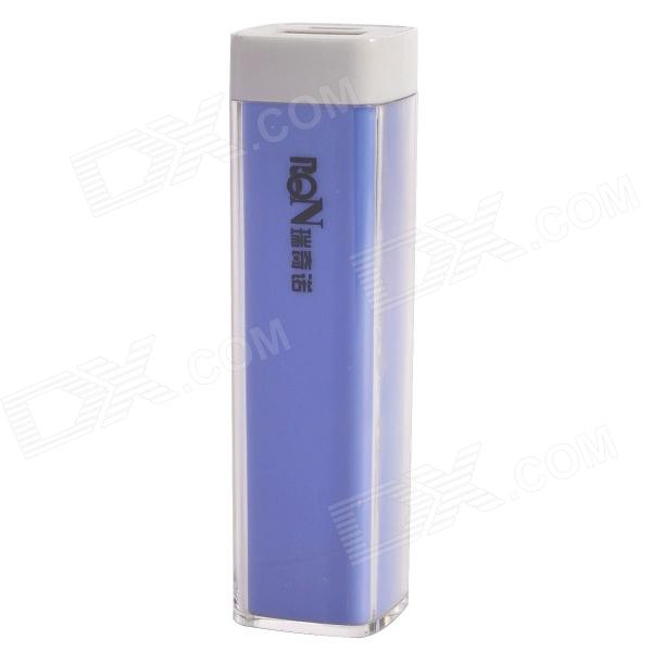 Richino RD-128 Rechargeable 2200mAh Emergency Mobile Power Charger - Light Blue