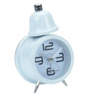 CHEERLINK Modern 1-Bell Alarm Clock Light - White (1 x AA)
