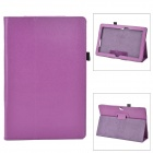 Protective Flip Open PU Leather Case w/ Stand for Asus VivoTab Smart ME400C - Purple