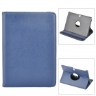 Protective Flip Open PU Leather Case w/ Stand for Samsung Galaxy Note 10.1 2014 Edition - Deep Blue