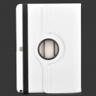 Protective PU Leather Case w/ Stand for Samsung Galaxy Note 10.1 2014 Edition - White
