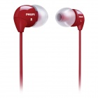 Philips SHE3590RD In-Ear Headphones Red with Powerful Bass