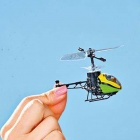 Genuine Nano Falcon RC Helicopter - Japan - The smallest in the world (Fluorescent Green)