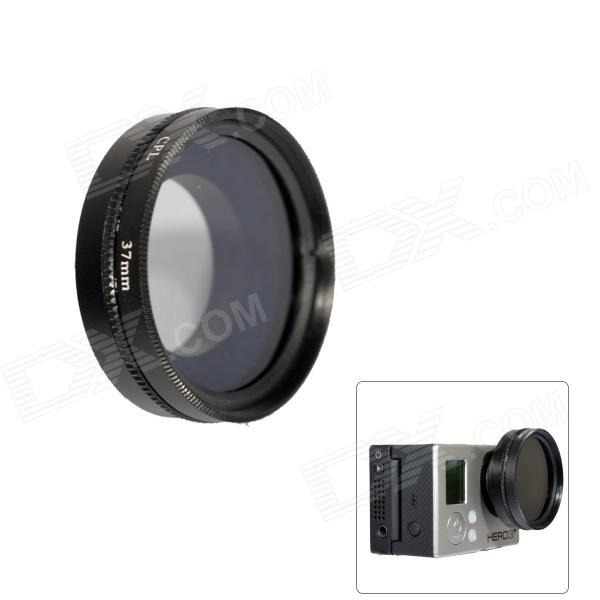 Fat Cat A-CP 37mm Gopro CPL Filter Circular Polarizer Lens Filter for Gopro Hero 4/3+ / Hero3 - Black