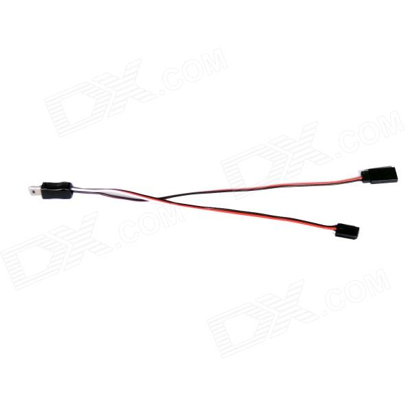 Fat cat C-AP Gopro FPV AV Output + 5V Power Input Cable for Hero3+ / Hero3 (20cm)