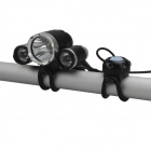 SingFire SF-801B 1800lm 3-Mode White Bicycle Light с 3 x Cree XM-L T6 - черный + серебристый (4 x 18650)