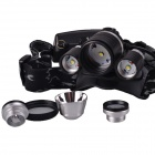 SingFire SF-555 1800lm 4-Mode White Headlamp (2*18650)