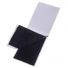 Adhesive Velcro Glue Adhesive Back Strap - Black (25mm Width / 100cm Length)
