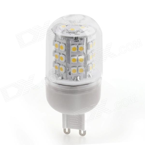 YMD-4 G9 3W 300lm 3000K 48 x SMD 3528 LED Warm White Light Corn Lamp Bulb - White (220~240V)