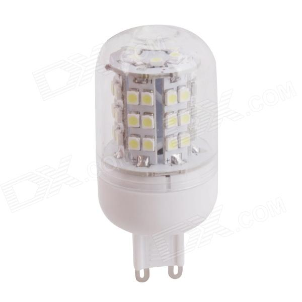 AMD-4 G9 3W 300lm 6500K 48 x SMD 3528 LED White Light Milho Light - Branco (220 ~ 240V)