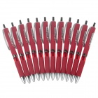 M&G AGP81601 0.5mm Comfortable Grip Red Gel Ink Pen - Red (12 PCS)