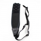 Universal Anti-slip Shoulder Strap for SLR / DSLR Cameras - Black