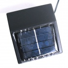 0.4W 10lm 100-LED Red Solar Powered Christmas Party Indoor Outdoor Flash Fairy Light - Red (17m)