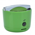 G.G.G Smart Portable Stereo Bluetooth 2.1 Wireless Mini Speaker w/ TF / Hand-free Function - Green