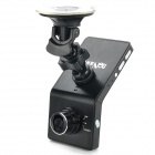 "Richino RD-F1000 2.4"" TFT LCD 1080P 5.0 MP Wide Angle Car DVR Camcorder w/ AV-Out, HDMI, TF - Black"