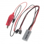 Rccskj 2123 2-in-1 Methanol Engine Flame Igniter - Silver + Red + Black + White