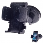 Yeleno Y-1255 Universal 360 Degree Rotation Car Holder Bracket for PDA/GPS/Mobile Phone/MP4 - Black
