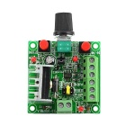 Jtron Speed Reversible Control Simple Stepper Motor Controller / PWM Generator Controller - Green