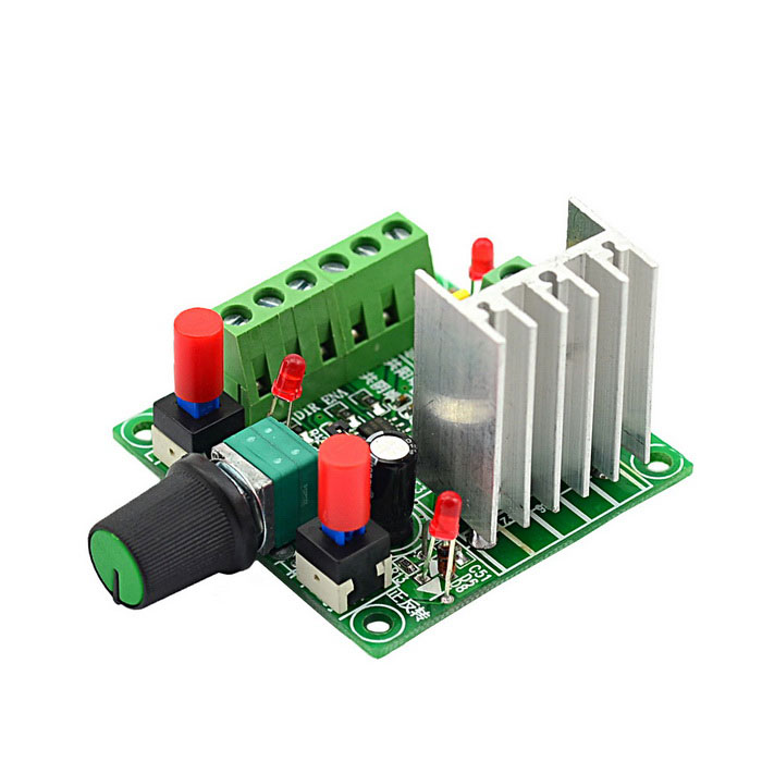 Jtron speed reversible control simple stepper motor for Controlling a stepper motor