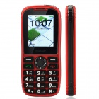 "Gstar 001 Fashion GSM Bar Phone w/ 2.0"" Screen, Dual-SIM, Bluetooth and FM - Red + Black"