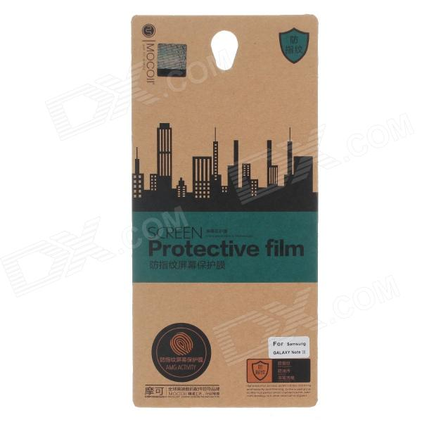 MOCOLL Anti-fingerprint Screen Protective Film for Iphone Samsung Galaxy Note III  - Transparent