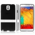 ENKAY Protective TPU Case w / Holder Stand for Samsung Galaxy Note 3 / N9000 - Black