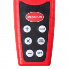 CPTCAM CP3000 Ultrasonic Distance Measurer - Red + Black (1 x 9V)