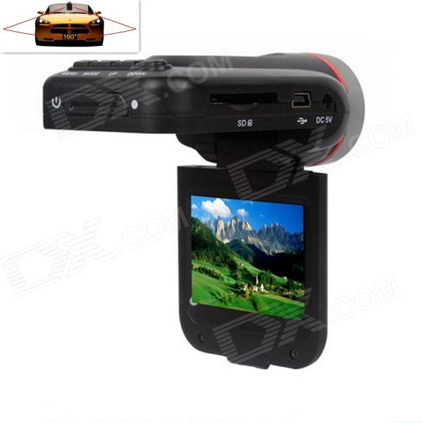 "Edaohang C60 2.0 ""TFT 5.0 MP Weitwinkel Auto DVR w / 8-IR LED / 4X Digital Zoom / HDMI / TF - Schwarz"