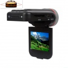 "Edaohang C60 2.0"" TFT 5.0 MP Wide Angle Car DVR w/ 8-IR LED / 4X Digital Zoom / HDMI / TF - Black"