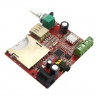 Jtron 20W MP3 Decoder Board / Remote Amplifier Board - Red (DC 12V)