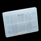 Cheerlink 18-in-1 Game Memory Card Storage Case for PS Vita - White