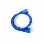 ULT-unite ULT-6219 USB 3.0 Mainboard 20-Pin Male to Male Extension Data Cable - Blue (50cm)