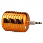 Microphone Style Portable 3.5mm Speaker for Iphone / Samsung / HTC / Motorola / Nokia