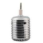 Microphone Style Portable 3.5mm Speaker