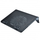 X-870 Notebook Cool Pad w/ 1-Fan - Black