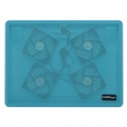 "Coldplayer IS-428 Ultra-Quiet alta velocidade Cooling Pad c / 4 Fãs para 15 ""Laptops - Azul"