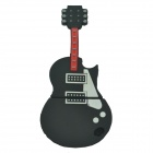Guitar Style USB 2.0 Flash Drive Disk - Black (16GB)