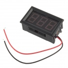 "Jtron 0.42 ""LED 3-Digital High Precision Zweidraht-Voltmeter w / Reverse Polarity Protection (4,5 ~ 30V)"