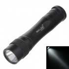 Small Sun ZY-577 80lm 6000K White Light Flashlight - Black (1 x AA Battery )