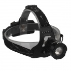 SingFire SF-556B 4-Mode 200lm 2 x XP-E R2 White + Green LED Zoomable Headlamp - Black (2 x 18650)