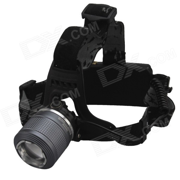 SingFire SF-557B 3-Mode 600lm White Rotation focus LED Headlamp w/ 2*18650 + Charger singfire sf 520 900lm 3 mode white light headlamp black 2 x 18650
