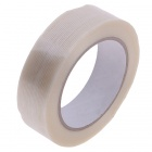 Fiber Adhesive Tape Fixed Viscose for Packing / Bundling - Milky White (26m x 30mm)