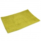 Anti-slip Water Absorption Soft Plush Bedroom Carpet Doormat - Green (Size-M)