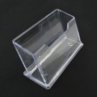 Upright Plastic Name Card Holder - Transparent