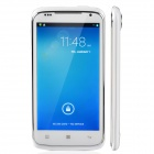 "S820 MTK6572 Android 4.2 Dual-Core Bar Phone w/ 4.7"", Wi-Fi / Camera - White + Silver"