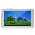 "K72 7.0"" Android 4.2 Dual Core Tablet PC w/ 512MB RAM, 4GB ROM, 2G Phone call, Wi-Fi, GPS - White"